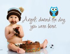 angels danced the day you were born