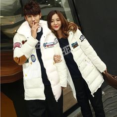 Winter New Autumn Winter Lover's Casual Hooded Coat Men Women High Quality Cotton-padded Jacket #Affiliate