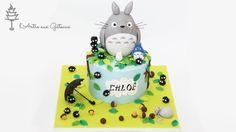 Gâteau Totoro - Totoro Cake
