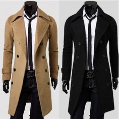 Men's Fall Overcoat