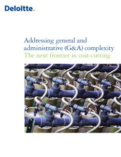 Addressing General and Administrative Complexity: The next frontier in cost-cutting The Next, White Paper, Business, Store, Business Illustration