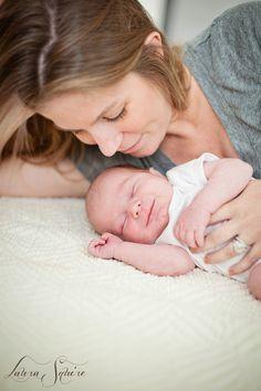 in home newborn baby photo shoot