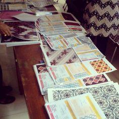 Balai Besar Kerajinan dan Batik menjadi salah satu anggota dewan juri pada kegiatan lomba desain batik khas jogja 2015 #dekranasda #jogja
