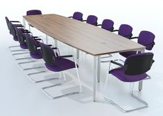 The #Sven X-Range #Barrel #Conference #Tables are available in a variety of #Sizes & #Finishes #LOFDirect