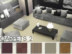 Carpets 2 by Pralinesims at TSR via Sims 4 Updates