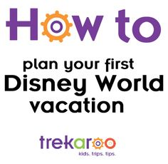 Tips, tricks, and all the details to planning your very first Disney World Family Vacation.