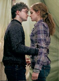 I love love love this dancing scene in Deathly Hallows!!!! I don't know why, but it was what a normal friend would do to cheer up their bestfriend. It was like more real.