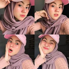 Casual Hijab Outfit, Ootd Hijab, Hijab Chic, Muslim Fashion, Ootd Fashion, Beautiful Hijab Girl, Selfie Poses, Selfie Ideas, Fashion Photography Poses