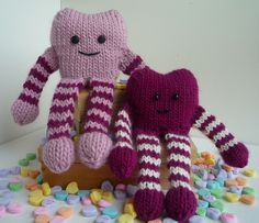 Ravelry: Love Monsters pattern by Ms. Ellaneous knit in Valley Yarns Berkshire or Berkshire Bulky