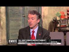 Marcus Lamb Speaks with Senator Rand Paul on Criminal Justice Reform