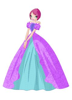 Winx Club Roxy Dress | The Winx Club Tecna