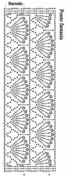 Crochet Leaf Patterns, Crochet Leaves, Crochet Wool, Crochet Cardigan Pattern, Crochet Borders, Crochet Diagram, Crochet Chart, Crochet Trim, Irish Crochet