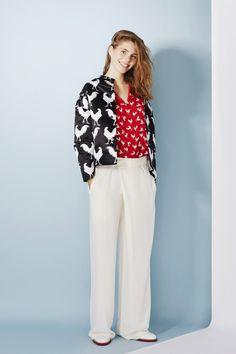@roressclothes clothing ideas #women fashion white pants