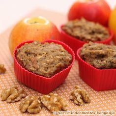 Nóri mindenmentes konyhája: Duplacsokis körtés muffin