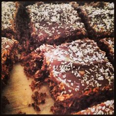 Cacao coconut slice :) - The Additive Free Pantry