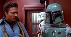 Lando & Boba. #starwars #starwarsdaily #lucasfilm #disney #landocalrissian #bobafett by starwarsdaily