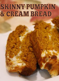 We love this Skinny Mom, Skinny Pumpkin and Cream Bread it is absolutely delectable! Its LOW CALORIE with only 63 calories per serving and LOW FAT with less than 2g of fat per serving!