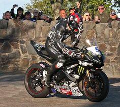 What separates children from men! Motorcycle Racers, Racing Motorcycles, Bike Suit, Ducati Hypermotard, Bike Leathers, Biker Gear, Supersport, Super Bikes, Isle Of Man