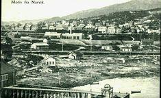Nordland fylke Narvik oversikt over byen Utg Erland Groth