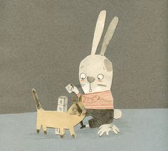 Elliot (2014) by Manon Gauthier, via Behance