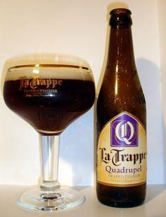 La Trappe Quadrupel,  10% 7/10 Bierbrouwerij De Koningshoeven, Berkel-Enschot close to Tilburg, Netherlands. The only trappist that doesn't come out of Belgium