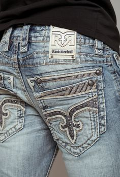 Rock Revival jeans available exclusively to Buckle Boys Jeans, Jeans Fit, Sweet Jeans, Fly Shoes, Casual Outfits, Men Casual, Rock Revival Jeans, Denim Fashion, Stretch Jeans