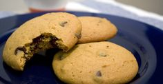 "Cookies are a ""why not?"" when made with whole-wheat flour and flaxseed. http://greatist.com/eat/recipes/healthier-pumpkin-chocolate-chip-cookies"