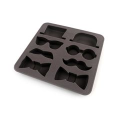 Serve your favorite drinks with ice in the shape of the most conspicuous of disguises. Perfect for entertaining, this ice tray is a must-have, especially for 1920s-themed parties.  Find the Master of Disguise Ice Tray, as seen in the Valentine's Day Gifts for Him  Collection at http://dotandbo.com/collections/valentines-day-gifts-for-him-2015?utm_source=pinterest&utm_medium=organic&db_sku=99049