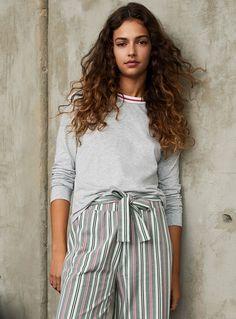 0ac214af6b Rugby stripe nightgown