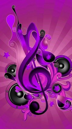 Pop Art Wallpaper, Colorful Wallpaper, Cartoon Wallpaper, Music Drawings, Music Artwork, Music Notes Art, Music Tattoo Designs, Music Symbols, New Background Images
