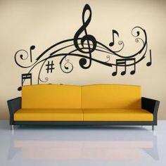 Vinilos Decorativos Detalle Musical                                                                                                                                                      Más