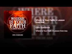 A Lesson From Asa pastor Chris Oyakhilome Pastor Chris, Faith, Teaching, Youtube, Education, Loyalty, Youtubers, Youtube Movies, Believe