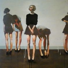 One of my favorite Michael Carson painting. He is an artist who likes to tell a story. His figures usually find themselves in bars, nightclubs, cafes, and jazz clubs. Arte Cyberpunk, Inspiration Art, Figure Painting, Figurative Art, Art Photography, Illustration Art, Drawings, People, Image