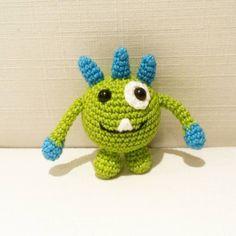 """""""Monsterdilla  #hekle #heklet #hekling #virka #hækle #häkeln #ganchillo #crochet #amigurumi #diy #hobby #handmade #homemade #hjemmelaget #craft #håndarbeid…"""""""