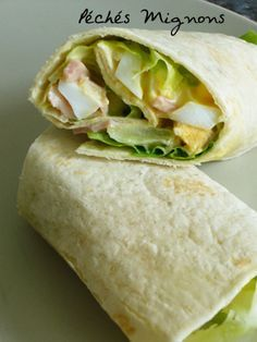 Healthy Wraps, Healthy Recipes, Taco Wraps, Bruchetta, Pizza Burgers, Cas, Think Food, Love Eat, Wrap Sandwiches