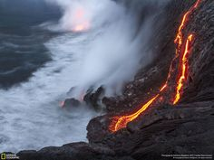 See an image that incorporates earth, wind, fire, and water http://on.natgeo.com/1ISQv9V
