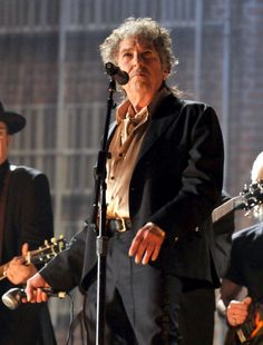 Singersongwriter Bob Dylan performs onstage during The 53rd Annual GRAMMY Awards held at Staples Center on February 13 2011 in Los Angeles California