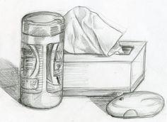 Pencil sketch: still life by phebron on deviantart pencil drawings in Nature Sketches Pencil, Pencil Sketches Easy, Pencil Drawings Of Love, Pencil Sketch Drawing, Art Drawings Sketches, Disney Drawings, Pencil Art, Easy Drawings, Still Life Sketch
