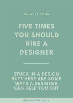 Hire A Designer   Small Biz   Branding & Website Design   Creative Business