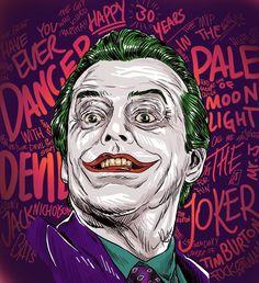 Joker Art, Batman Art, Joker Batman, Joker Nicholson, Jack Nicholson, Michael Keaton Batman, Tim Burton Batman, Cosplay, Teen Titans Starfire