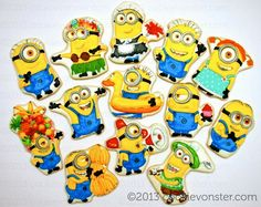 Cookievonster:  Minions