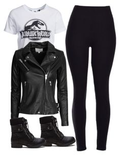 """""""Cora Hale Inspired Outfit"""" by staystronng ❤ liked on Polyvore featuring New Look and IRO"""
