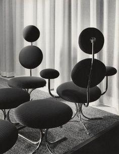 """davidjulianhansen:  """"Modular Chair by Verner Panton 1960  """""""