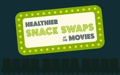 Healthier Snack Swaps at the Movies [Infographic]