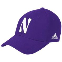 NCAA Northwestern Wildcats Structured Adjustable Hat, One Size Fits All,Purple adidas. $8.81