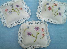 Lavender cushions set of three £15.00