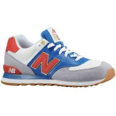 New Balance 574 - Men's - Sport Inspired - Shoes - Red