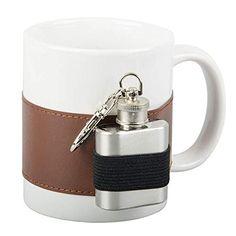 Malaga, Flask, Barware, Mugs, Tableware, Trends, Winter, White Ceramics, Dekoration
