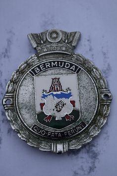 J.R. Gaunt Bermuda, car badge