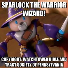 Sparlock The Warrior Wizard! Copyright: Watchtower Bible and Tract Society of Pennsylvania